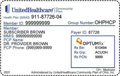 Healthcare Card